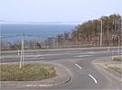 国道5号線へ直結。札幌・小樽へのアクセスは快適です。
